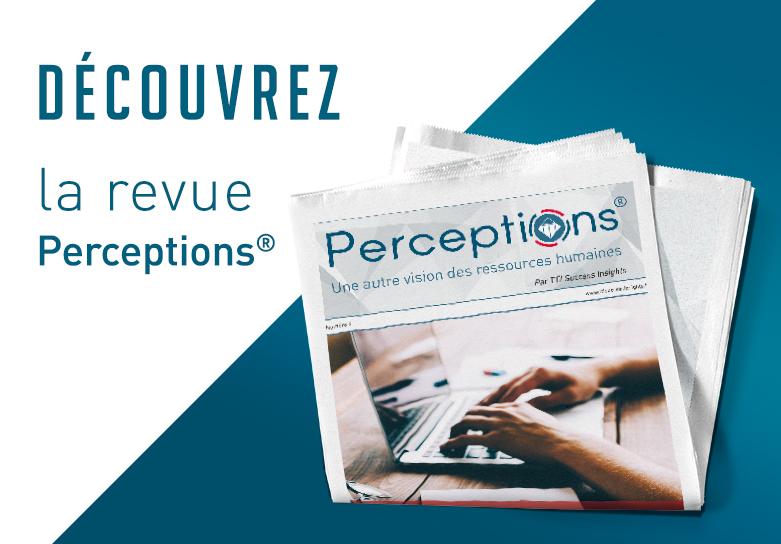 Description de Découvrez la revue Perceptions, une autre vision des ressources humaines