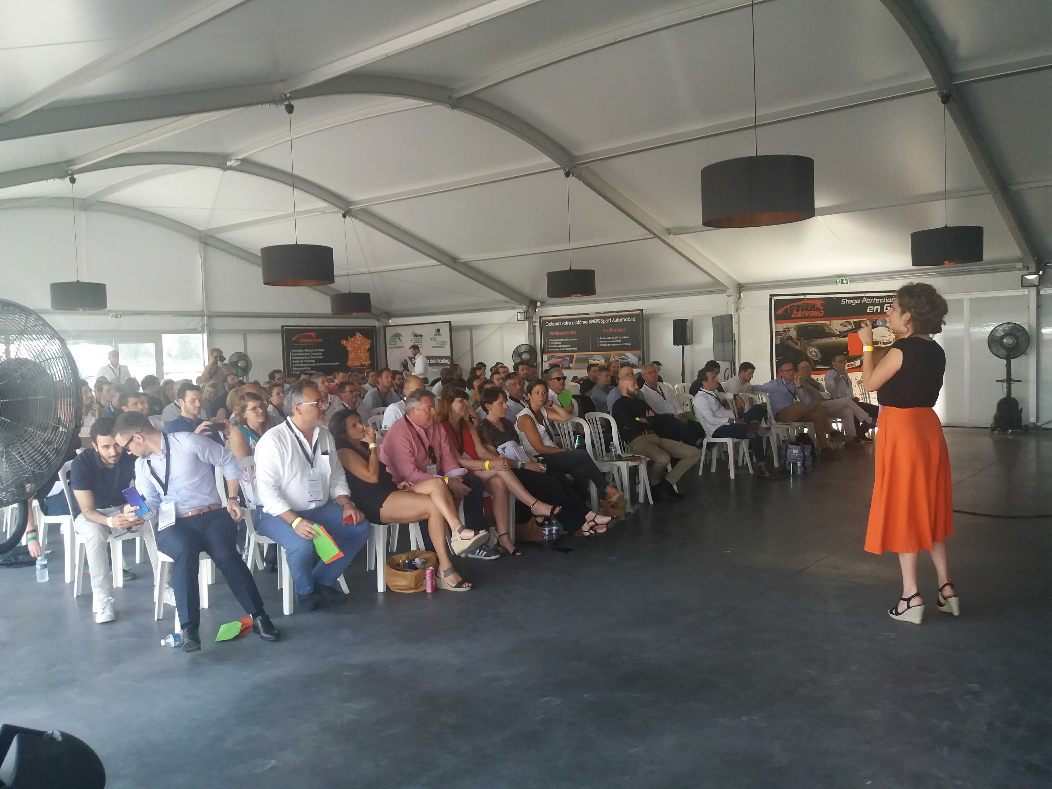 Description de Retour sur la 4ème édition du Trophée Karting DCF de la Performance Commerciale