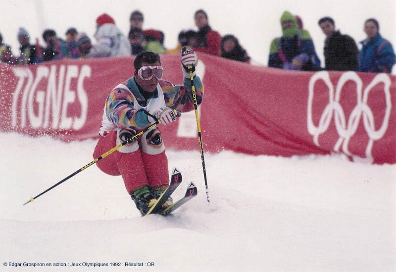 Description de Edgar Grospiron: «Le sport et l'entreprise sont tous deux une aventure humaine»