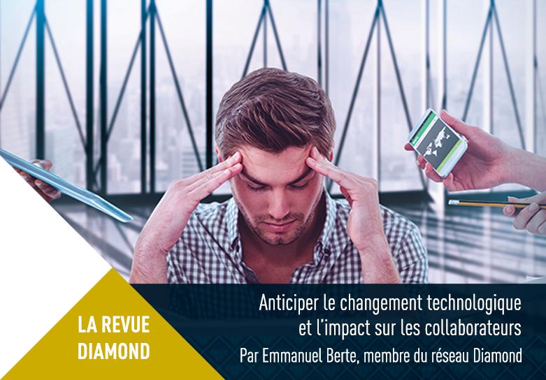 Description de Anticiper le changement technologique et l'impact sur les collaborateurs